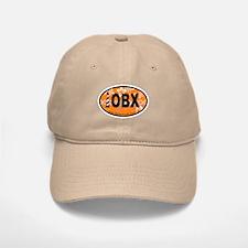 Outer Banks NC - Oval Design Baseball Baseball Cap