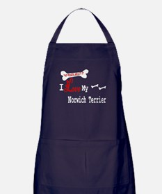 Norwich Terrier Gifts Apron (dark)