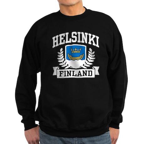 Helsinki Finland Sweatshirt (dark)