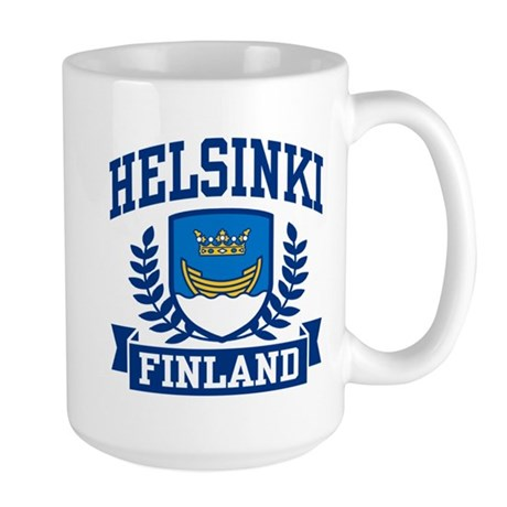 Helsinki Finland Large Mug