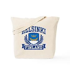 Helsinki Finland Tote Bag