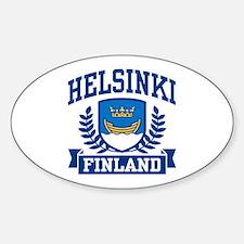 Helsinki Finland Decal