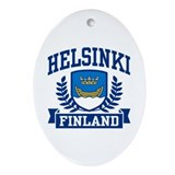 Finland Oval Ornaments