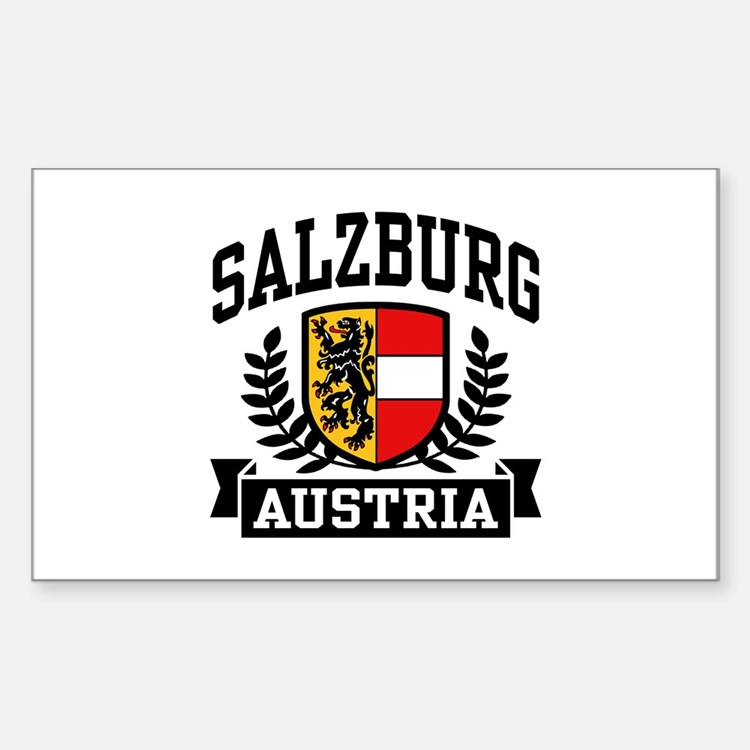 Salzburg Austria Sticker (Rectangle)