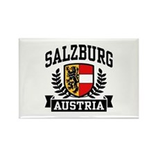 Salzburg Austria Rectangle Magnet