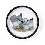 Cochins: Self Blue Wall Clock