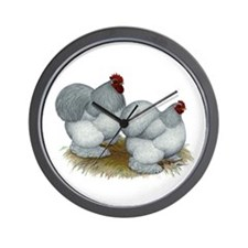 Cochins: Self Blue Wall Clock