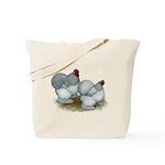 Cochins: Self Blue Tote Bag