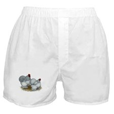 Cochins: Self Blue Boxer Shorts
