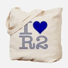 I Heart R2 Tote Bag
