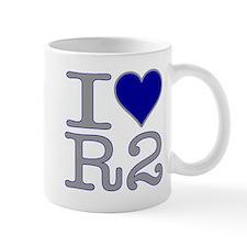 I Heart R2 Small Mug