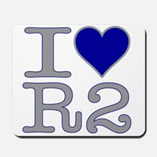 I Heart R2 Mousepad