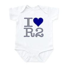 I Heart R2 Infant Bodysuit
