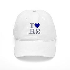 I Heart R2 Baseball Cap