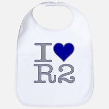 I Heart R2 Bib