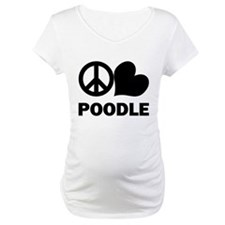 Peace Love Poodle Shirt