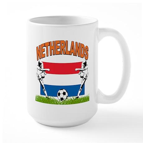 NETHERLANDS SOCCER Large Mug