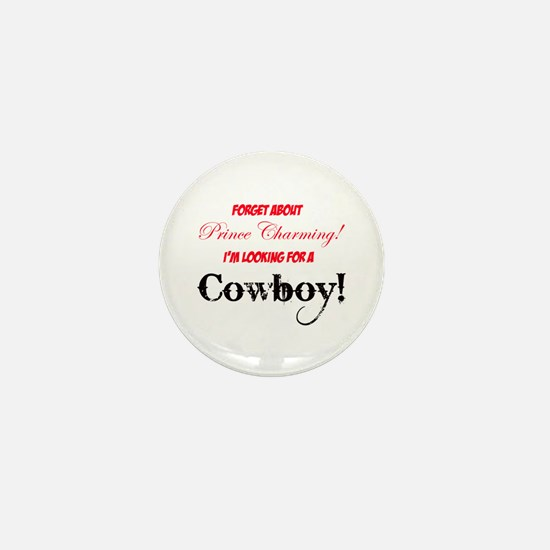 Looking for a cowboy! Mini Button (100 pack)