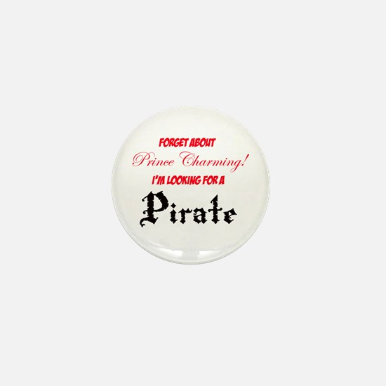 Looking for a pirate! Mini Button