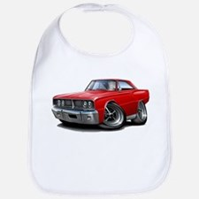 1966 Coronet Red Car Bib