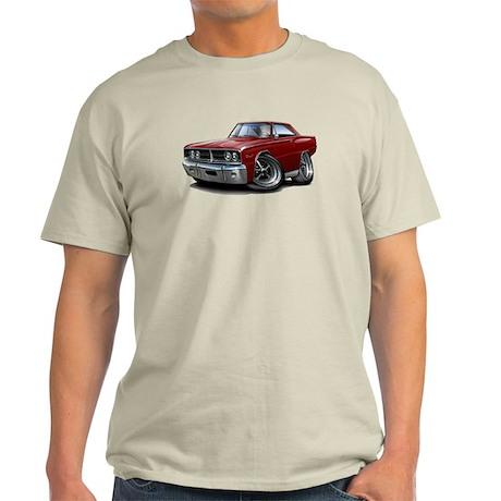 1966 Coronet Maroon Car Light T-Shirt