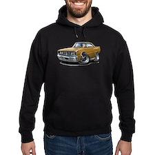 1966 Coronet Gold Car Hoodie