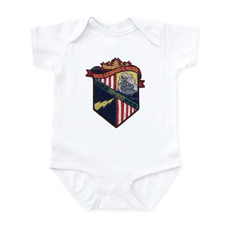 USS LEONARD F. MASON Infant Bodysuit