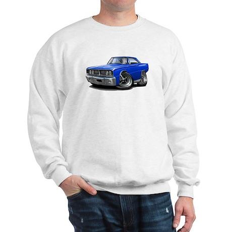 1966 Coronet Blue Car Sweatshirt