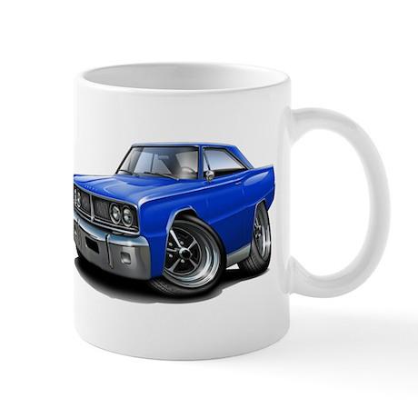 1966 Coronet Blue Car Mug
