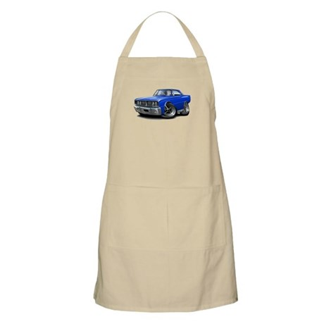 1966 Coronet Blue Car Apron
