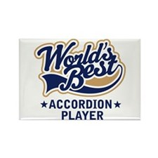 Worlds Best Accordion Player Rectangle Magnet