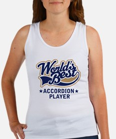 Worlds Best Accordion Player Women's Tank Top