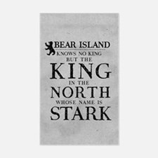 Bear Island King In The North Decal