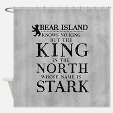 Bear Island King In The North Shower Curtain