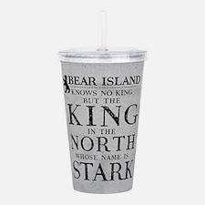 Bear Island King In The North Acrylic Double-wall