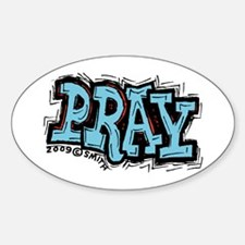Pray Decal