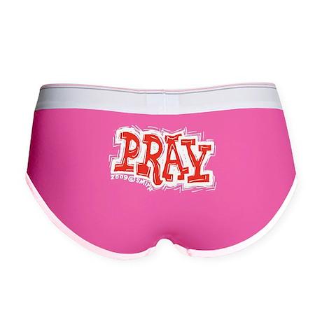 Pray Women's Boy Brief