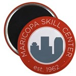 MSC School Seal Magnet