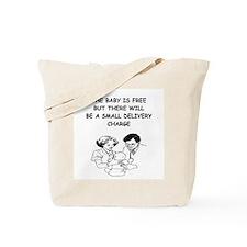 obstetrician joke Tote Bag