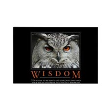 Wisdom Rectangle Magnet