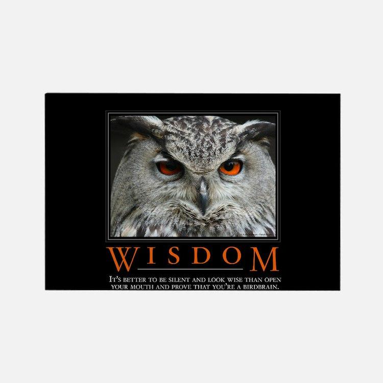 Wisdom Rectangle Magnet