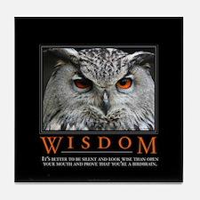 Wisdom Tile Coaster