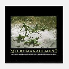Micromanagement Tile Coaster