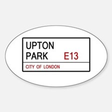Upton Park Sticker (Oval)