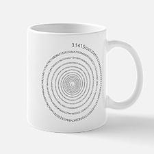 Pi Spiral Small Mugs