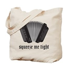 Accordion Squeeze Tote Bag