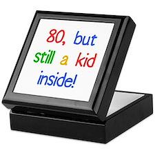 Fun 80th Birthday Humor Keepsake Box