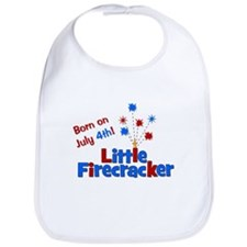 Born on July 4th Little Firec Bib