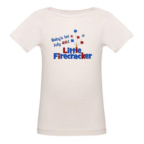Baby's 1st July 4th! Little F Organic Baby T-Shirt