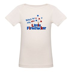 Baby's 1st July 4th! Little F Tee